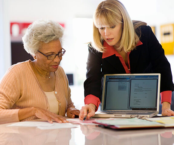 Financial services for elders